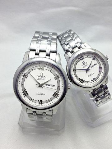 Đồng hồ cặp sang trọng thời trang Omega C-OM0723-D