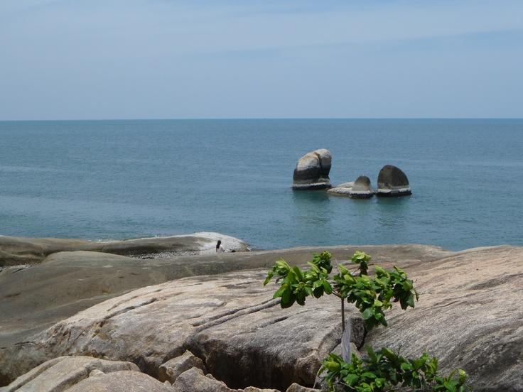 Rock formation South of Lamai,Koh Samui,Thailand