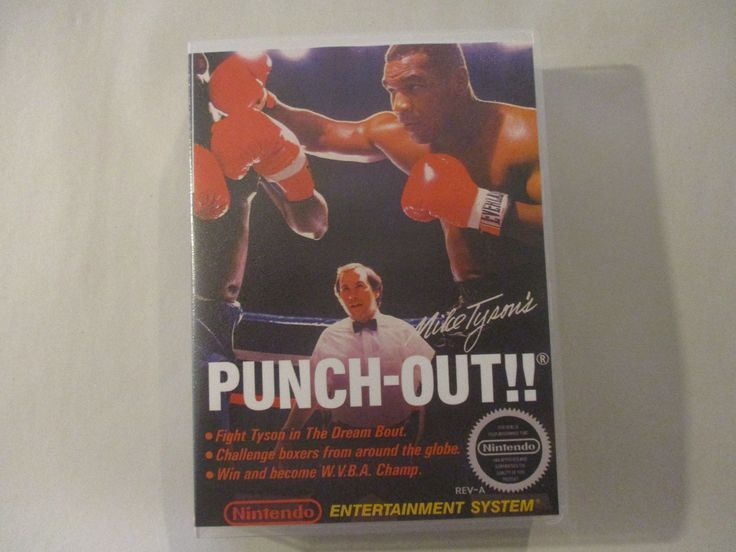 nice Mike Tyson's Punch Out - NES Custom Art Case/Box (No Game)   Check more at http://harmonisproduction.com/mike-tysons-punch-out-nes-custom-art-casebox-no-game/