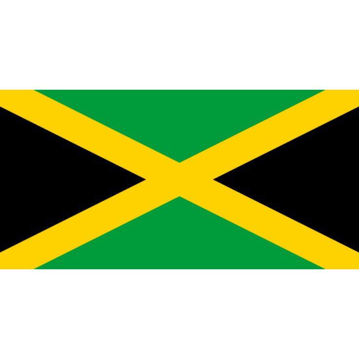 Tafelvlaggen Jamaica 10x15cm | Jamaicaanse tafelvlag