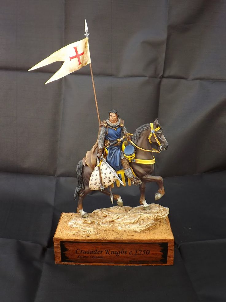 Cruzader Knight c.1250 - Andrea Miniatures 90mm