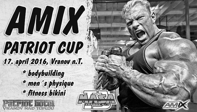 2016 AMIX Patriot Cup Vranov nad Topľou – vstupenky v predaji! #fitness #bodybuilding #amix #bikini