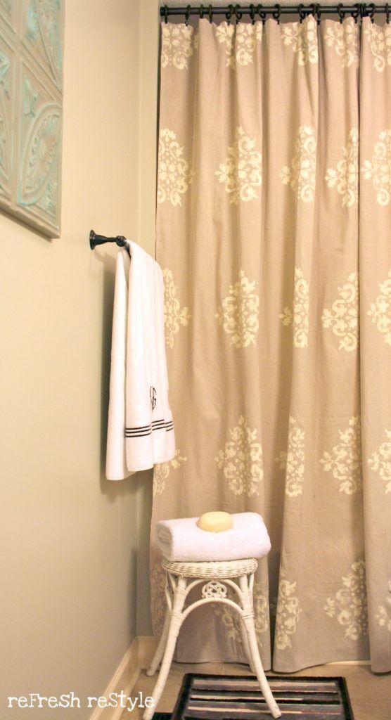 25 best ideas about burlap shower on pinterest burlap greek key shower curtain ballard designs