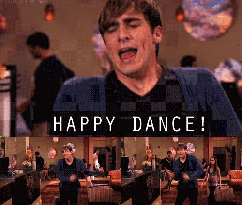 HAPPY DANCE / YAY / YEAH