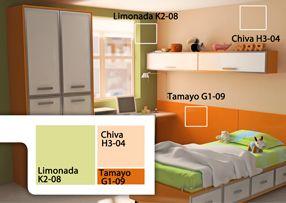 Comex Combinaciones De Color Para Cuartos De