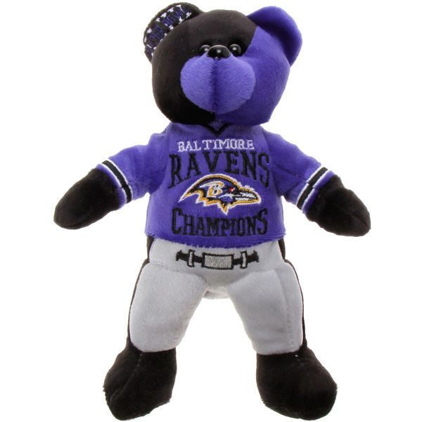 Baltimore Ravens Super Bowl XLVII Champions Thematic Bear