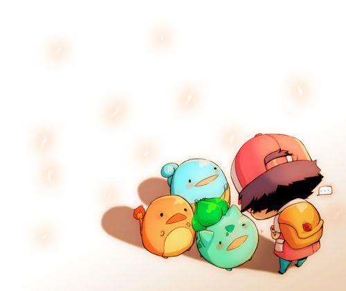 chibi pokemon. So round!