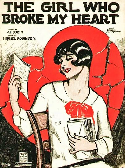 vintage sheet music: Music Flappers, Sheet Music Th, Vintage Sheet Music, Music Covers, Heart Vintage, My Heart, Vintage Sheets, 1920S Sheet, Music Th Girls