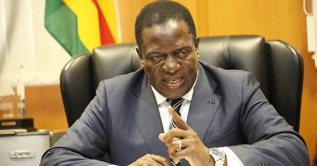 Zimbabwe president orders ministers, govt officials to declare assets