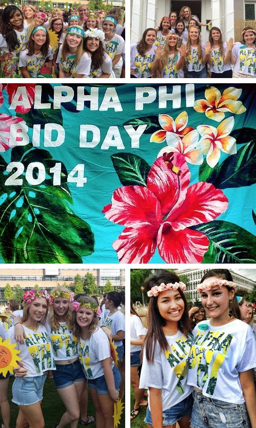 ✿❀ TROPICAL bid bliss ~ AΦ ✿❀ {GA Tech}