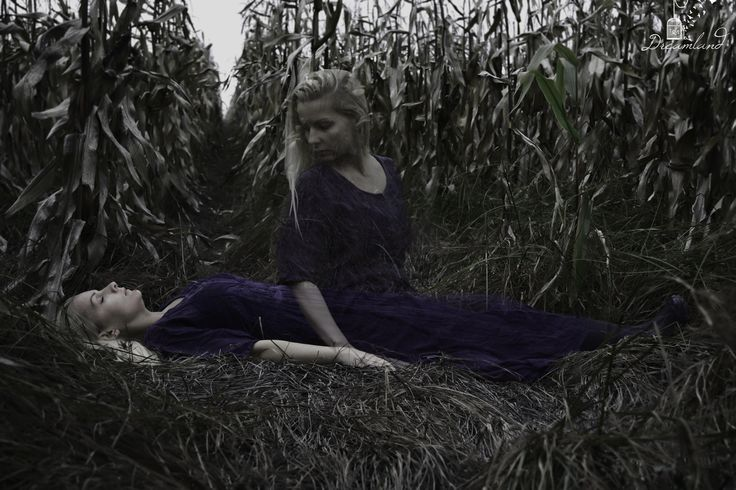 Dreamland Photography  #ghost #ghostgirl #corn #halloween #dead #dreamland