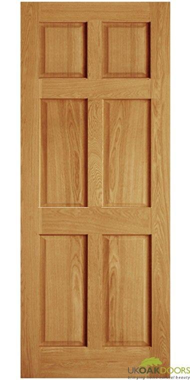 Victorian Six Panel Oak Door