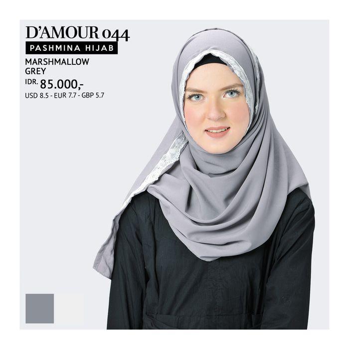 Pashmina Hijab Tatuis - D'Amour 044