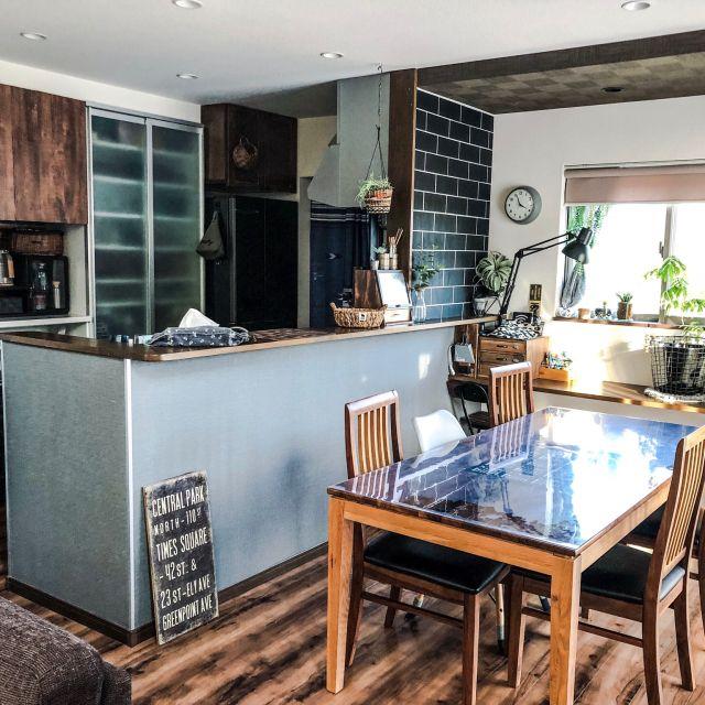 部屋全体 スッキリ暮らしたい お久しぶりです 関家具 壁紙 などのインテリア実例 2018 11 10 18 46 11 Roomclip ルームクリップ インテリア リビング キッチン インテリアアイデア