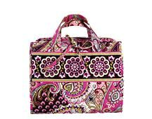 Hanging Organizer in Very Berry Paisley