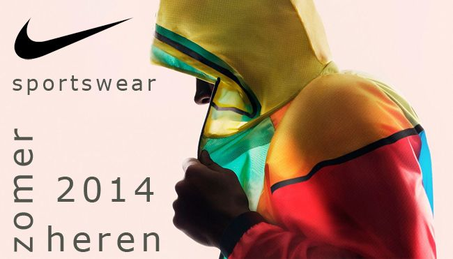 Herenmode Nike Sportswear sportieve zomer outfits, MEER  http://www.pops-fashion.com/?p=11554