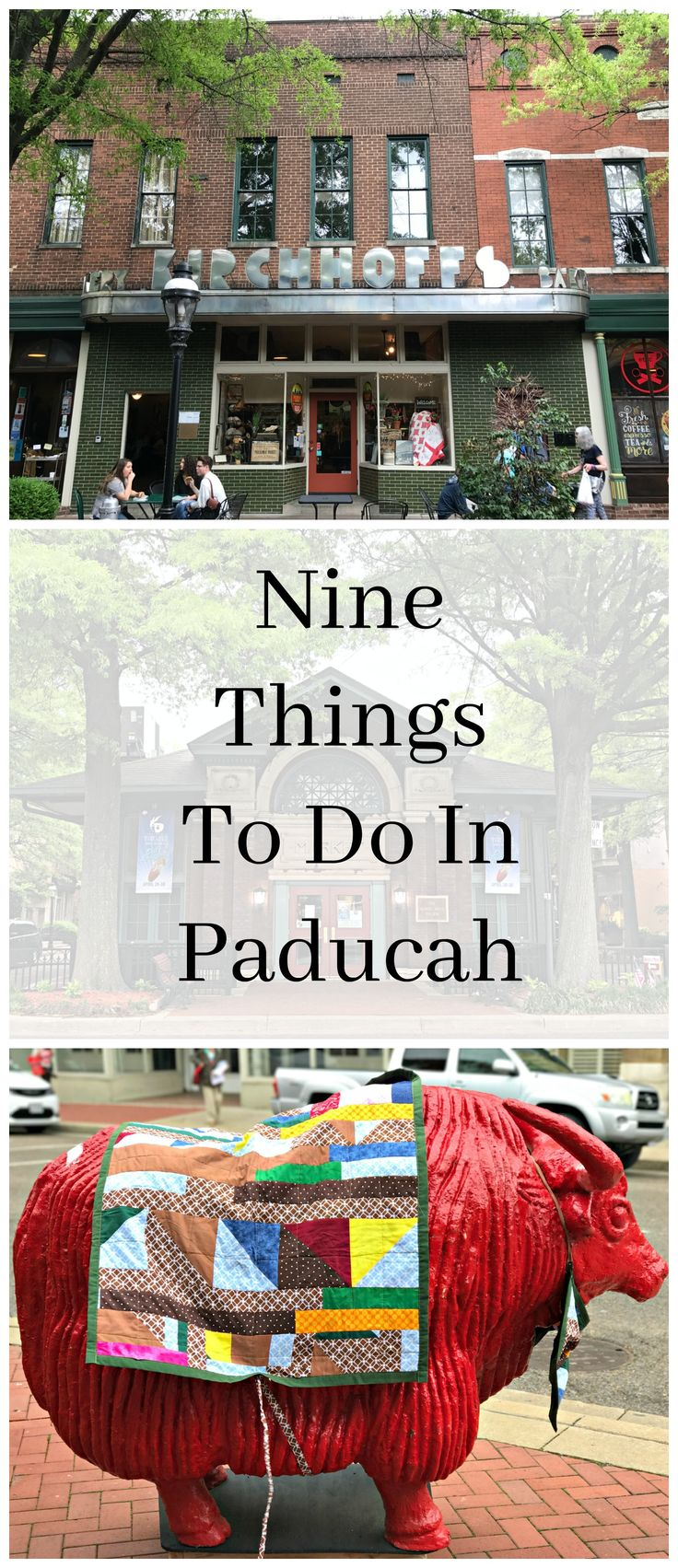 Whether you are in Paducah, Kentucky for AQS Quilt Week or just because, here are Nine Things To Do In Paducah.  There's more to Paducah than the Paducah Quilt Show.