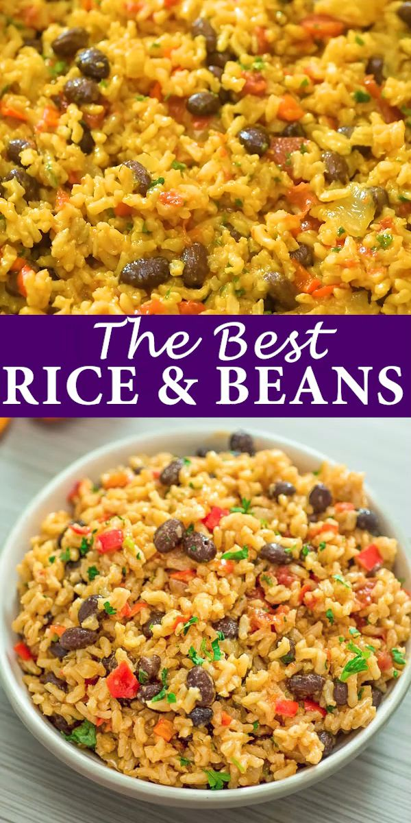 Easy Rice and Beans