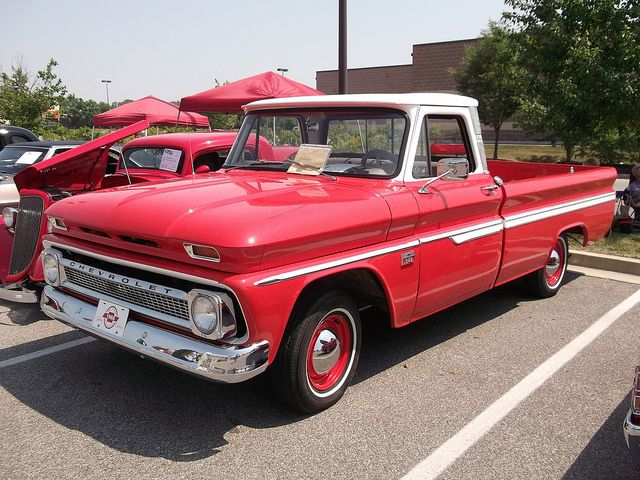 1966 chevy trucks and cars | 1966 Chevy C10 truck | Flickr - Photo Sharing!
