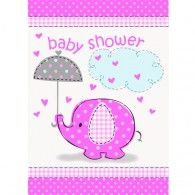Elephant Baby Shower Invitations (8pk) $6.50 M41674