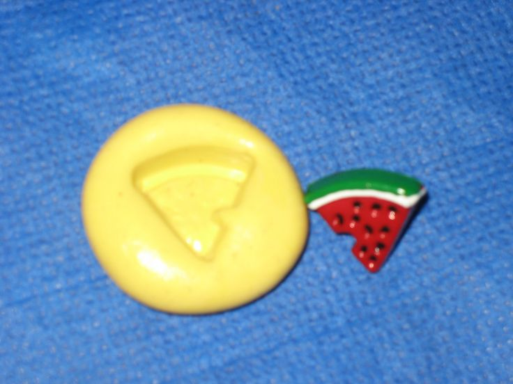 Watermelon Flexible Push Mold Candy Food Safe Silicone #328 Fondant Chocolate by LobsterTailMolds on Etsy