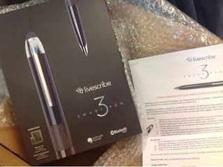 The Livescribe 3, This Smart Pen Works Smarter. Pricey - $149, but very cool.