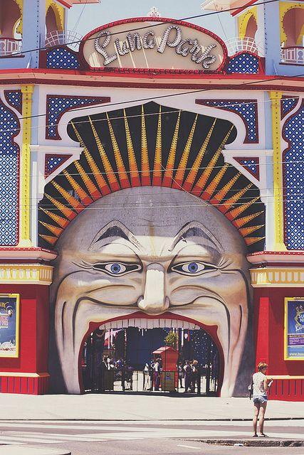 Crazy lunapark! Melbourne - Australia,  Go To www.likegossip.com to get more Gossip News!