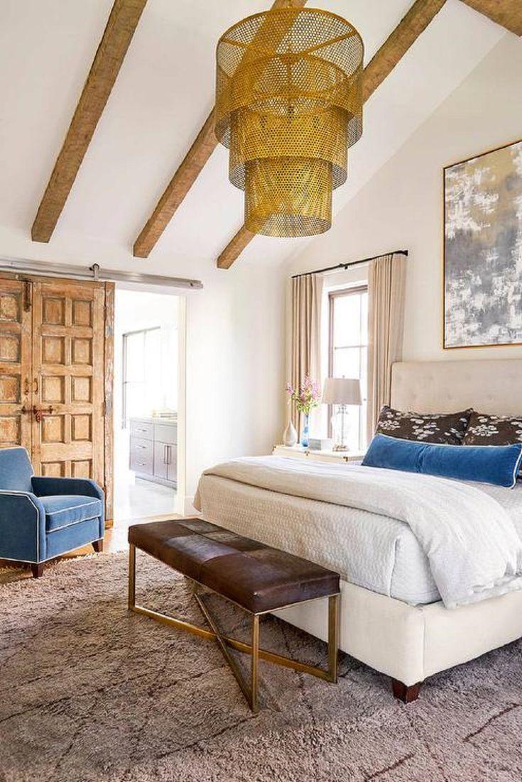 Mirror nightstands contemporary bedroom kimberley seldon design - 25 Beautiful Bedroom Show You How To Do Bedroom Lighting Right