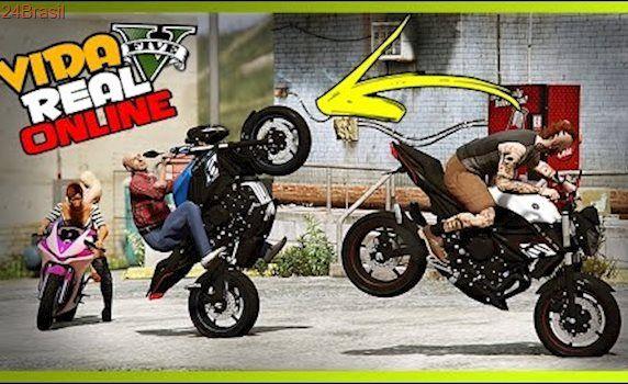 🔴 GTA V : VIDA REAL - ROLE DE MOTO COM O VEI CHIBUNGO! #118