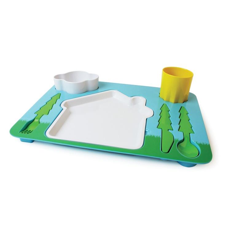 Children´s Tableware Set Landscape Dinner Set