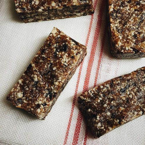 Raw Orange and Cacao Energy Bars