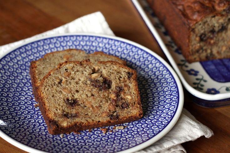 Peanut Butter Banana Bread Rezept ~ Living on Cookies