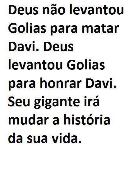 Golias x Davi