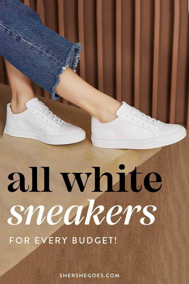 Best White Sneakers For Women 2020 Minimalist Easy To Style All White Sneakers White Sneakers Women White Casual Sneakers