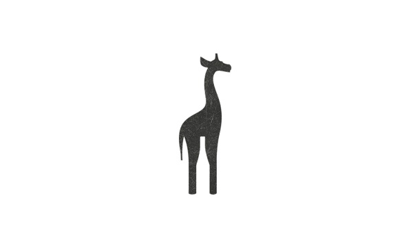 Giraffe wine l logo concept by Miro Kozel, via Behance
