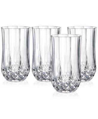 GerrCristal D'Arques Longchamp Set of 4 Highball Glasses   macys.com