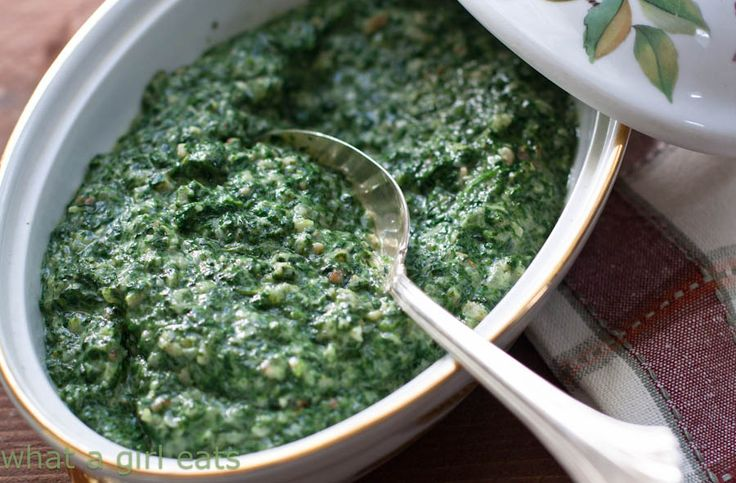 My mom has been making Lawry's, Creamed Spinach, for Christmas dinner to go with our prime rib, ever since I can remember. She got the recipe from a little spiral-bound cookbook called, Ford Treasu...