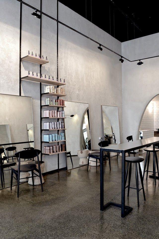 Best 25 industrial salon ideas on pinterest industrial - Interior hair salon lighting ideas ...