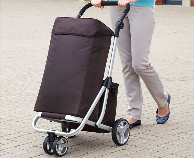 Bergman Lightweight 4-Wheel Shopping Trolley | Scotts of Stow