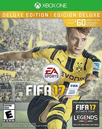 FIFA 17 Deluxe Edition  Xbox One * Find out more about the great product at the image link.Note:It is affiliate link to Amazon.