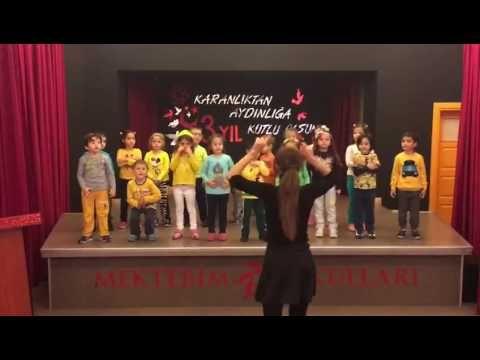 Karınca Çocuk Şarkısı Orff Şarkısı Tekirdağ Mektebim Okulu Söylüyor Büşra Gençel - YouTube