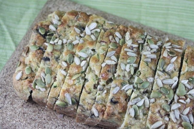 More than Words: Zucchini Ham and Olive Loaf