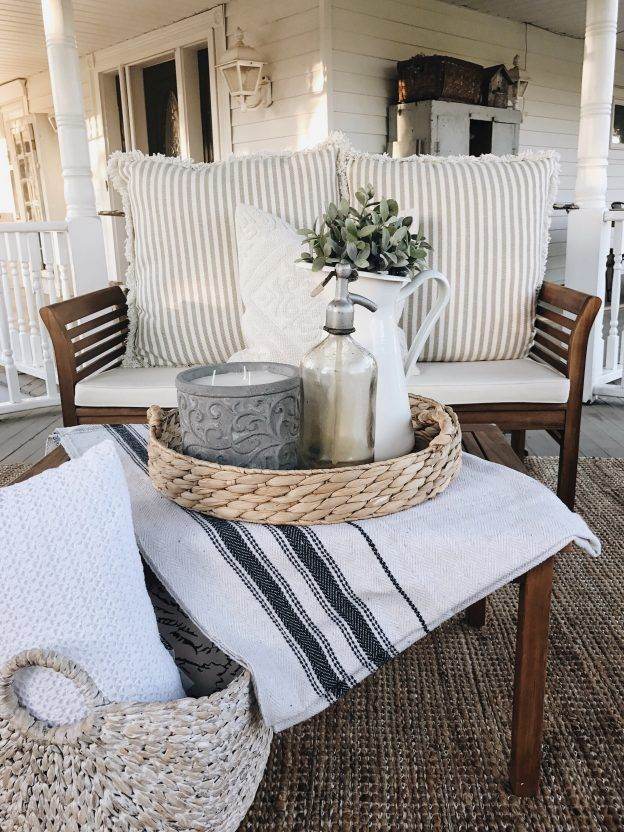 Vintage French Soul ~ How To Make Any Fabric Outdoor Safe