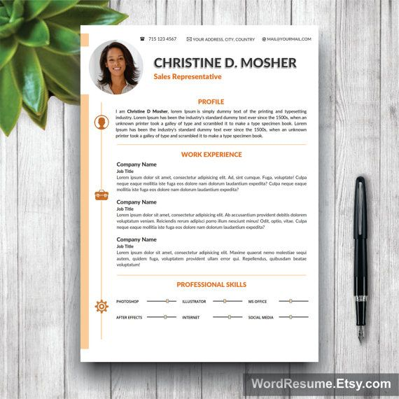 32 best CV \/ Resume Templates in MS Word images on Pinterest - ms word resume template