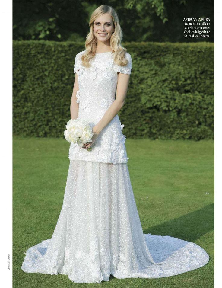 Poppy's beautiful CHANEL dress