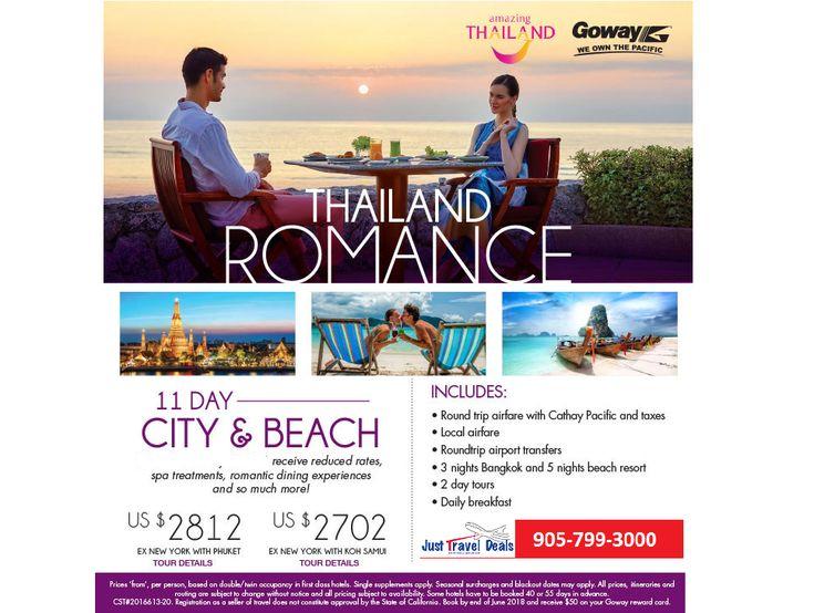 Thailand Romance - City and Beach