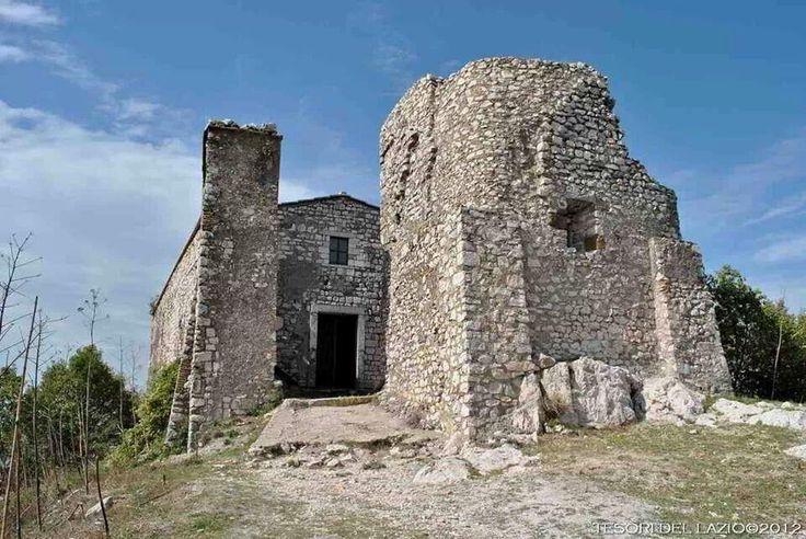 Italy - #Lazio - Sant'Oreste (RM) - L'antica chiesa di S.Silvestro sul Monte #Soratte - Photo G. Garofoli (05-2012) - © All rights reserved - Tesori del Lazio