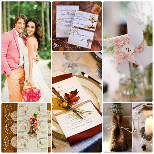 Herbst-Hochzeit-Inspiration