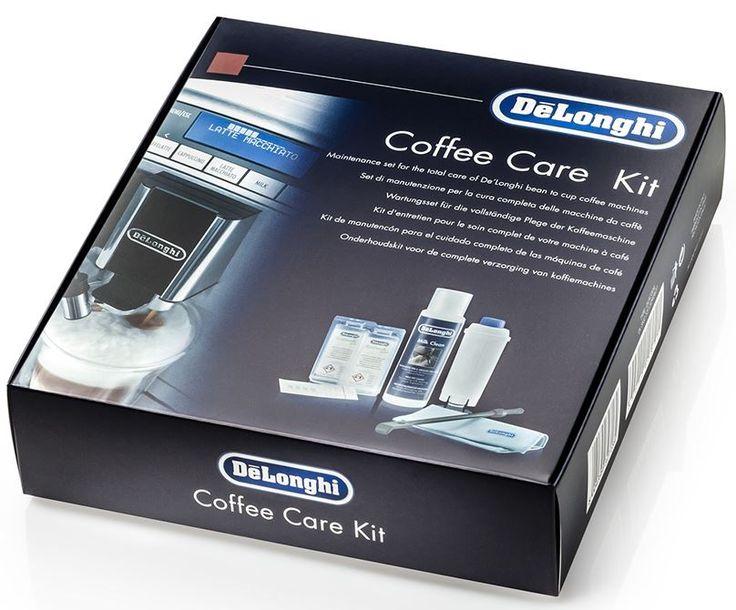 DeLonghi Coffee Care Kit  DeLonghi Coffee Care Kit SER3012: complete reinigings- en onderhoudskit! Deze complete Coffee Care Kit van DeLonghi zorgt voor een betere kwaliteit van de koffie en houdt het espresso apparaat in optimale conditie. Inhoud Coffee Care Kit Deze onderhoudskit van DeLonghi bestaat uit een ontkalker een Milk Clean 250 ml voor het reinigen van de onderdelen die in aanraking komen met melk spatel/borsteltje voor het reinigen van het koffiedikbakje borsteltje om het…