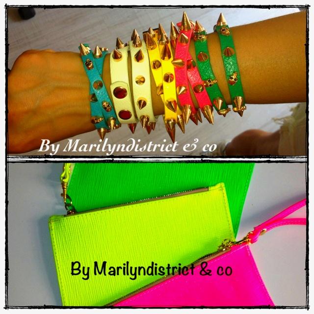 ... Stud bracelet....